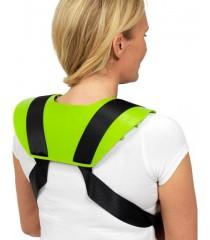 SWEDISH SPIKE MAT FOR SHOULDERS akupresūrinio masažo aplikatorius pečiams (didelis)