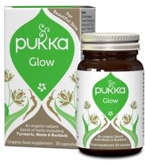 """PUKKA """"Glow Organic"""" ekologiškas maisto papildas"""