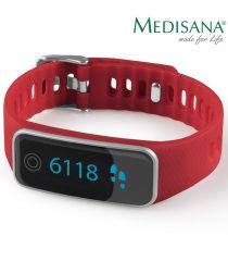 Medisana ViFit Touch žingsniamatis ir miego sekiklis (raudonas)